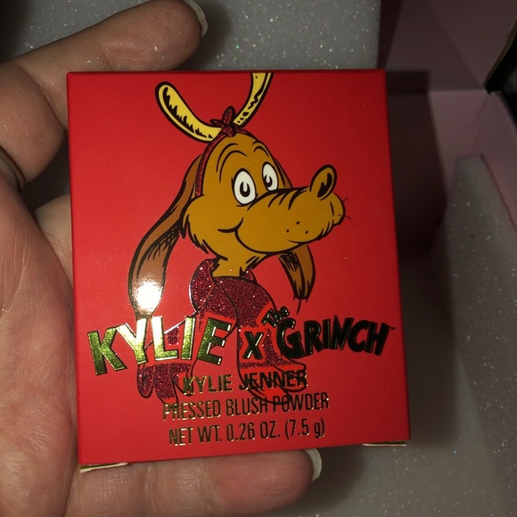 "Kylie x Grinch ""Max The Reindeer"" Blush"